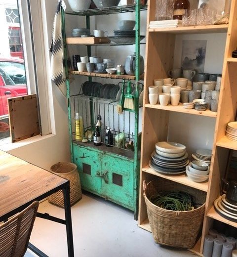 keukenrek ijzer S green